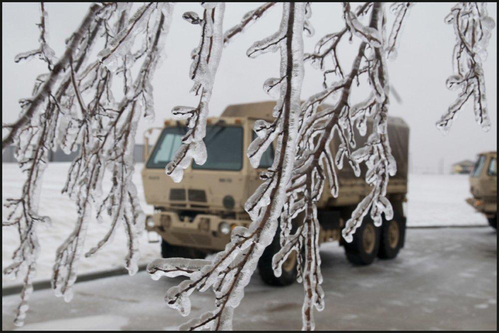 Ice Storm Oklahoma