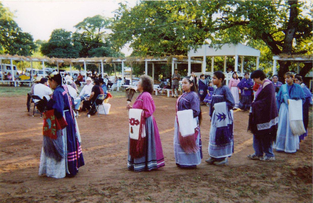Caddo nation women