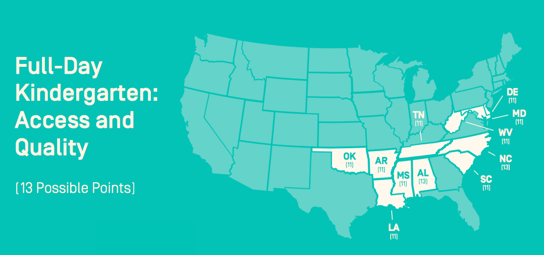Kindergarten Access and Quality: A Look at the Leading States