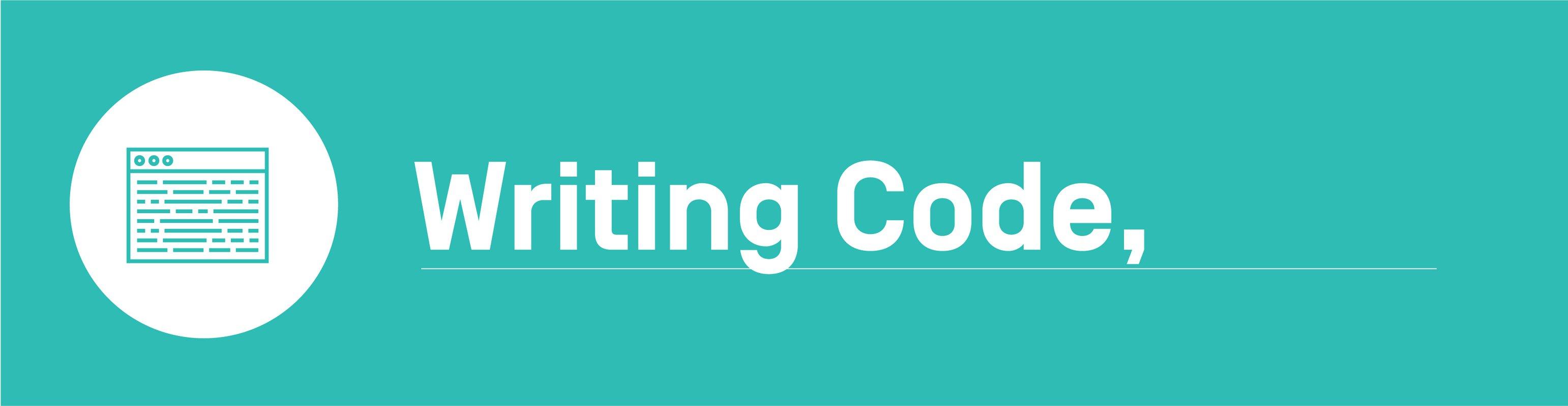 Algorithmic bias - Writing Code