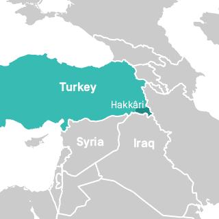 Hakkari province, Turkey