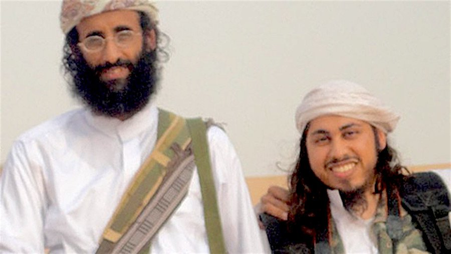 Anwar al-Awlaki (left) and Samir Khan, editor of propaganda magazine Inspire. Both were killed in a U.S. drone strike.